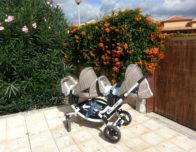 коляска моих близнецов