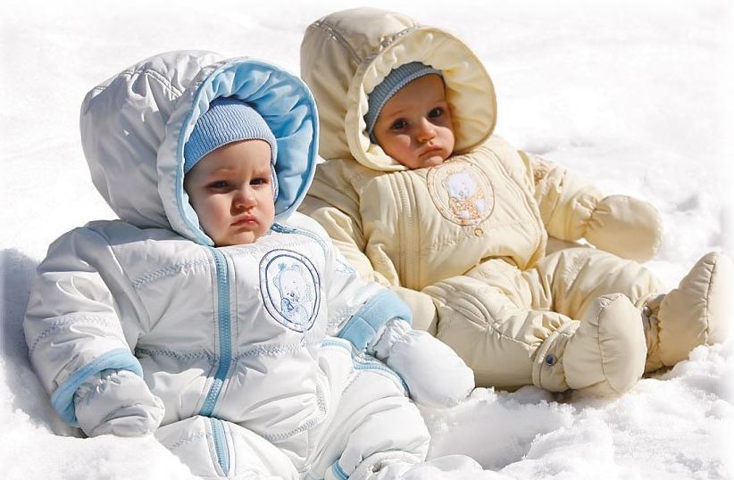 как правильно одеть малышей