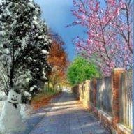 Весна и зима