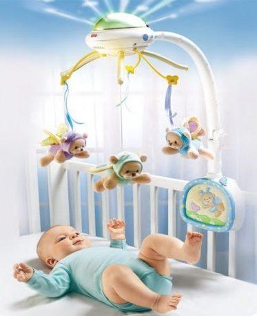 игрушки в кроватку фото