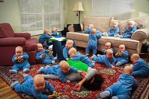 одинаковые дети фото