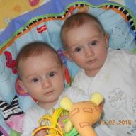 пять месяцев близнецам