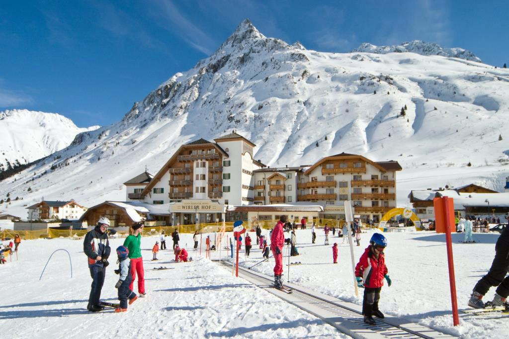 Лыжный курорт в Австрии