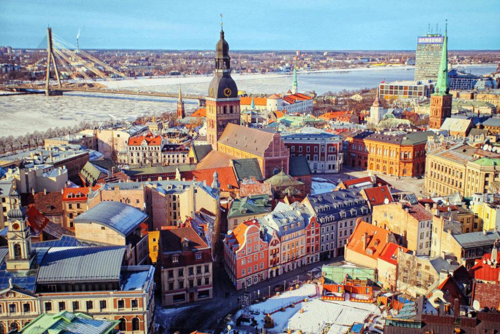 Новый год Латвия