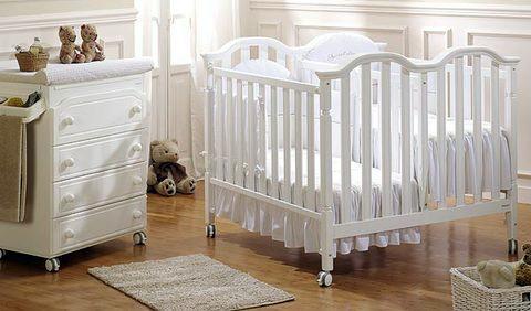 классическая кроватки для двойни