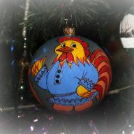 шарик на елку