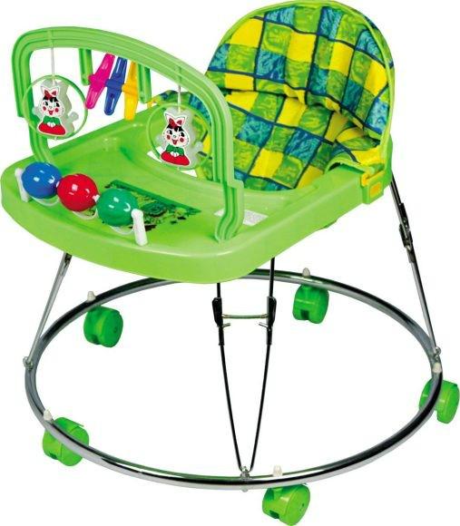 зеленые ходунки для детей