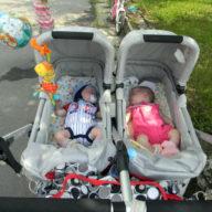 близнецы коляске