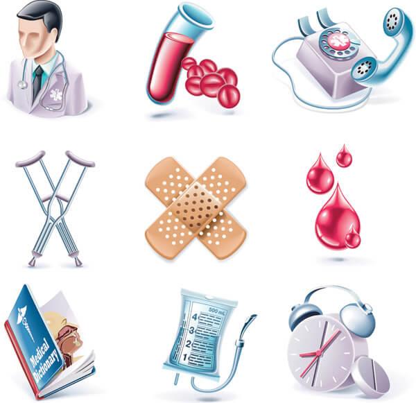иконки медицина
