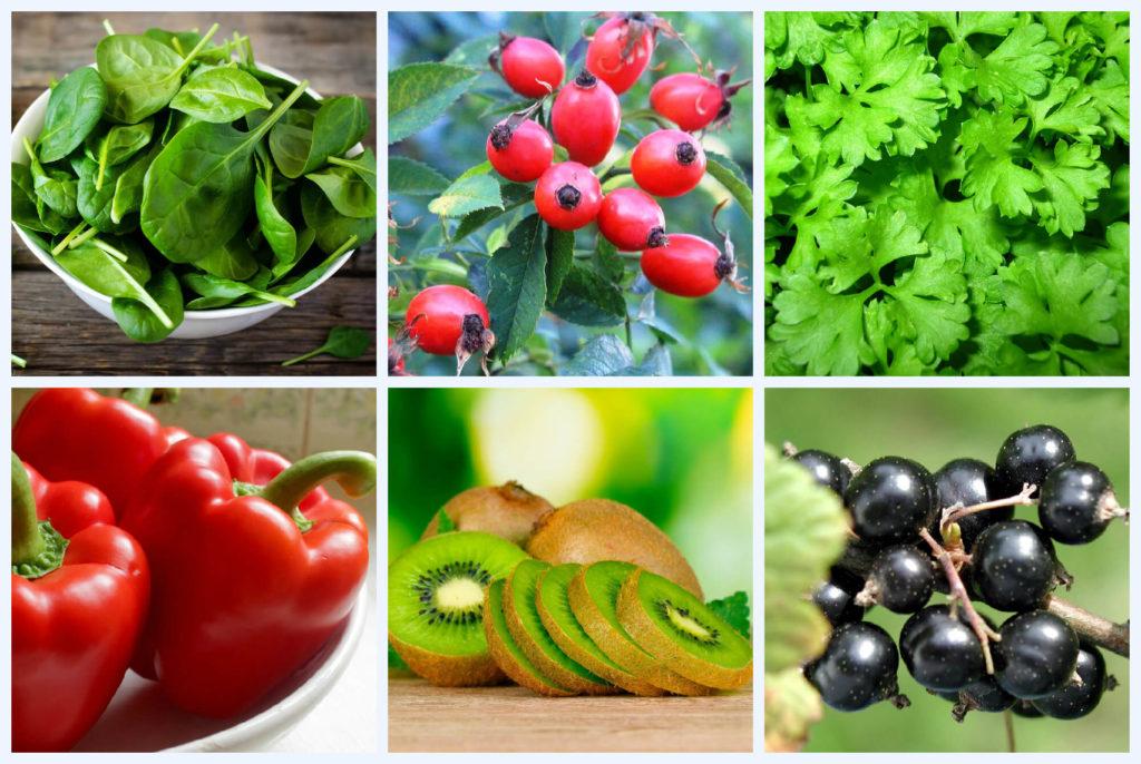 витамин С во фруктах