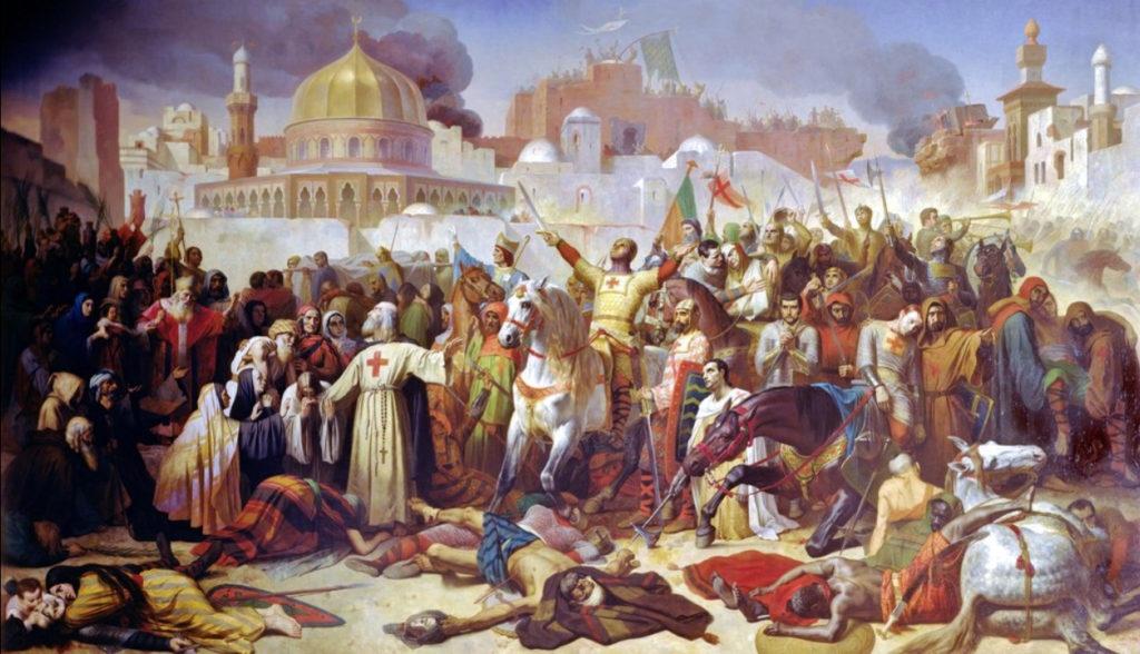 крестоносцы в Иерусалиме
