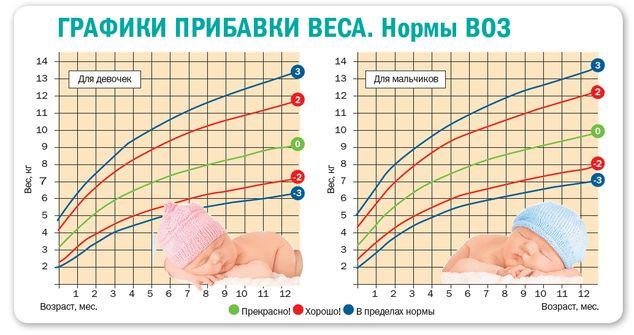диаграмма веса