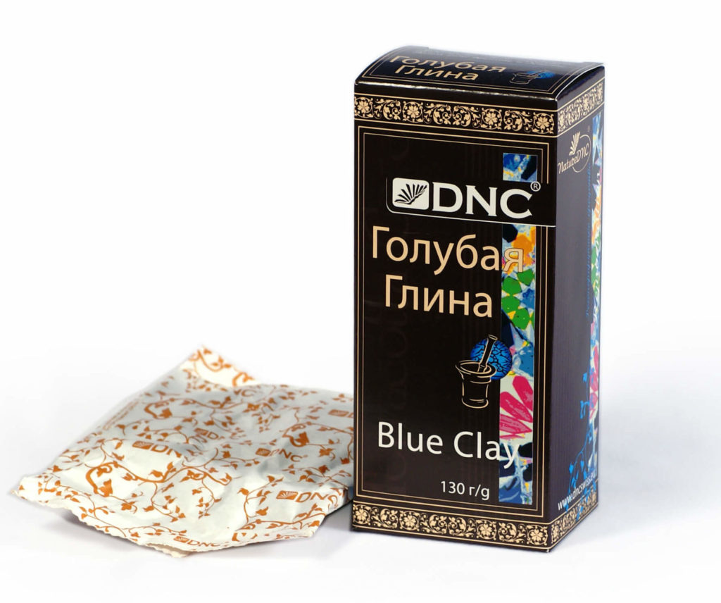голубая глина