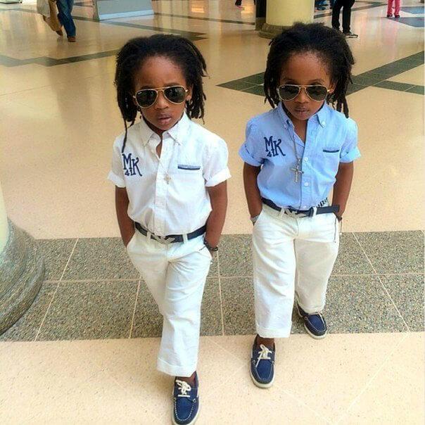модники близнецы