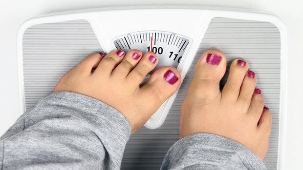 слишком высокий вес