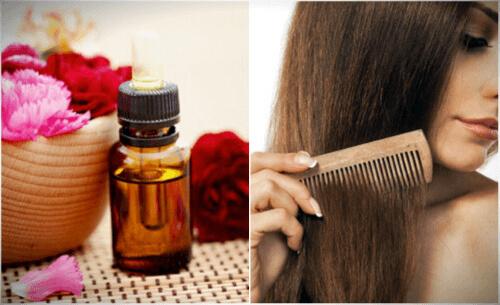 уход за волосами с помощью бергамота