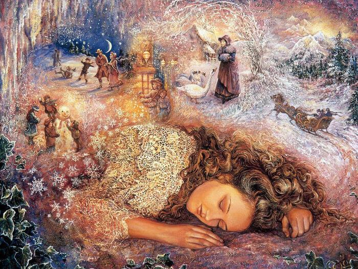 во сне мы видим многое