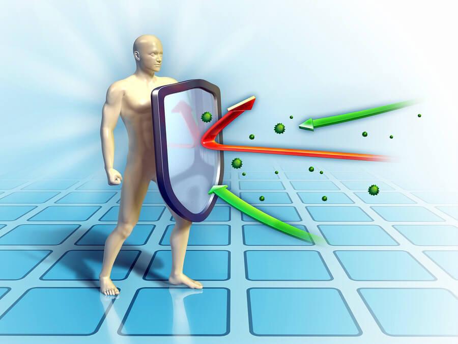 защита организма от бактерий