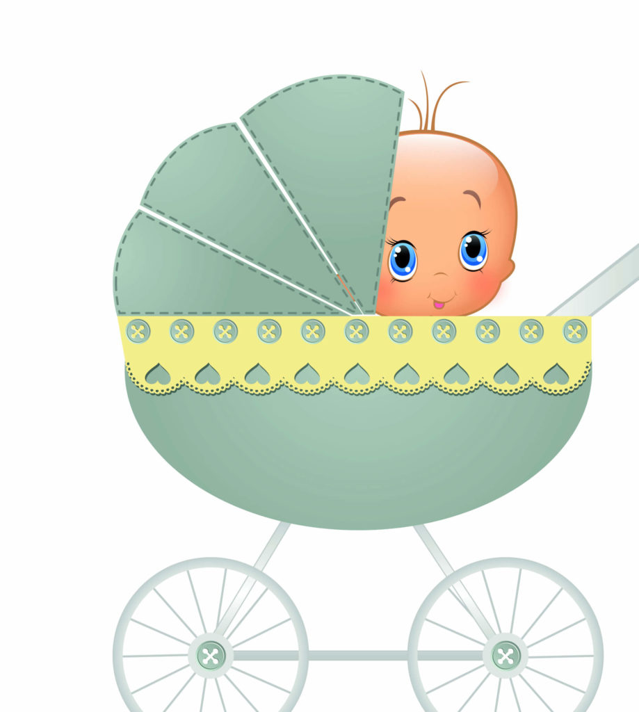 малыша в коляске