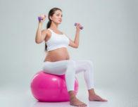 фитбол во время беременности