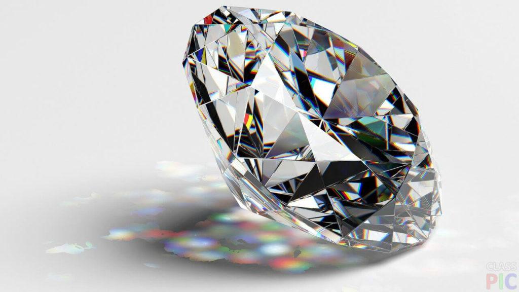 прозрачный бриллиант