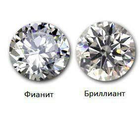 5243fe4945bf Как отличить бриллиант и фианит  способы и советы при покупки