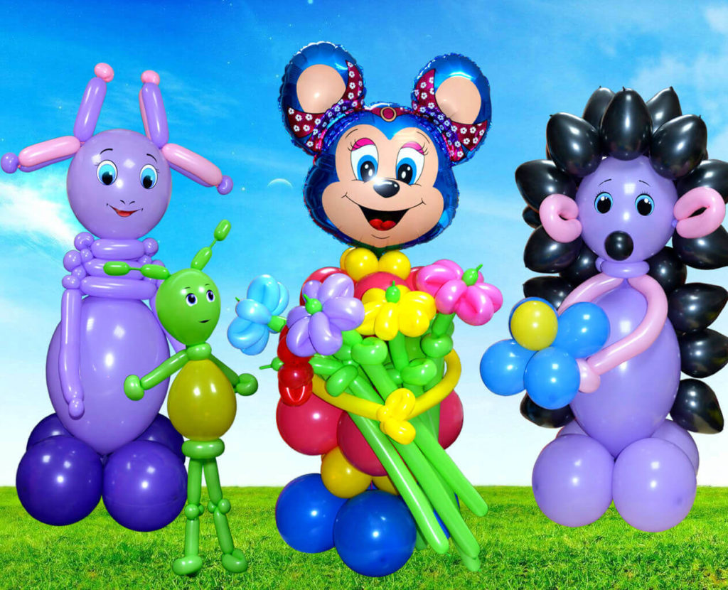 фигурки из воздушных шаров