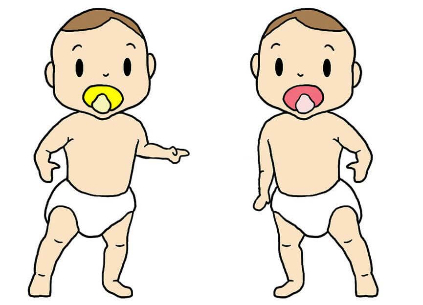 маленькие близнецы