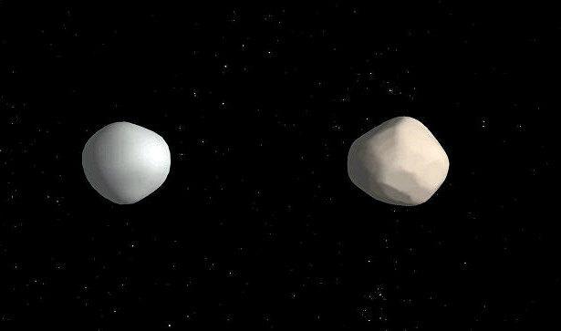 небесные астероиды
