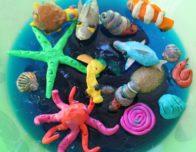 аквариум из пластелина
