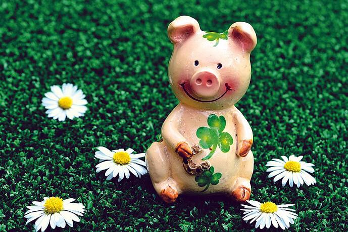 год свиньи статуэтка