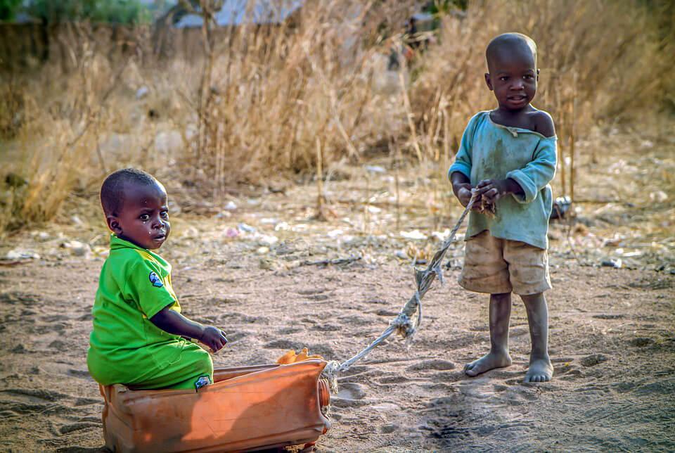 Дети Нигерия