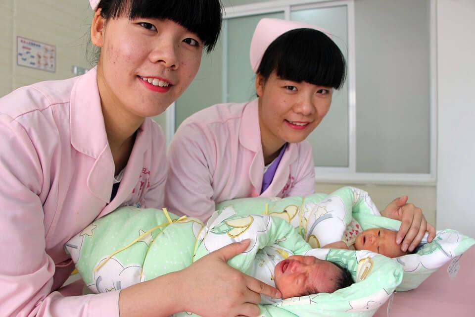 Китай о близнецах