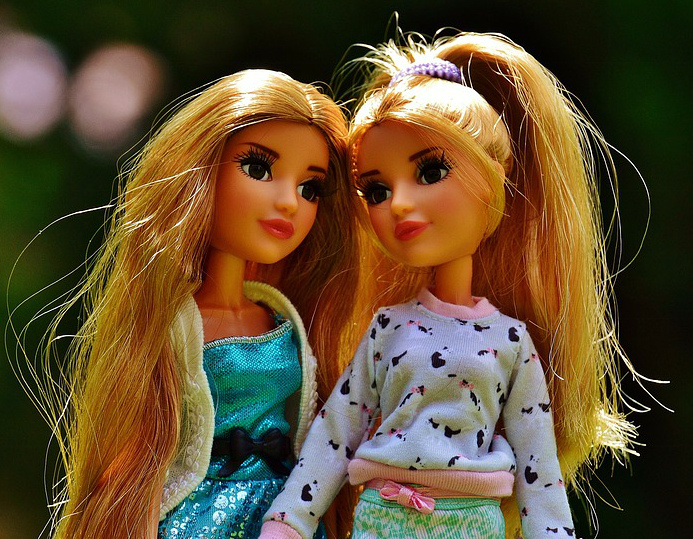 куклы-близнецы фото