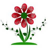 картинка цветок с группой крови