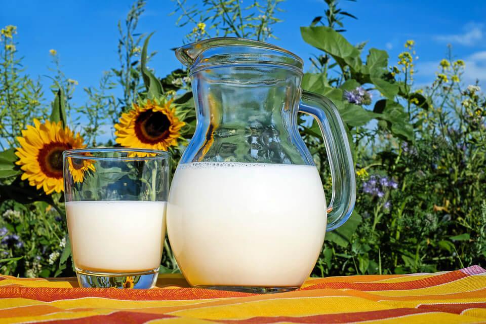 фото графин молока