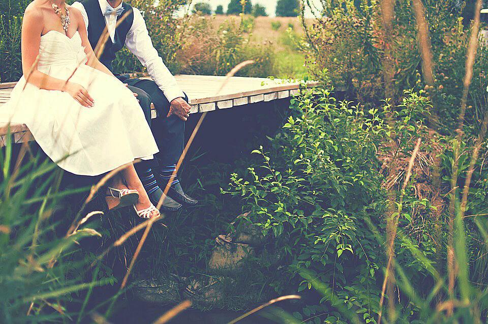 фото свадьба на берегу