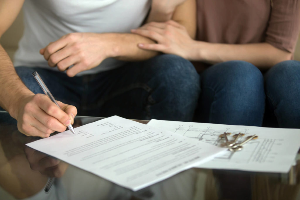 фото подписание договора