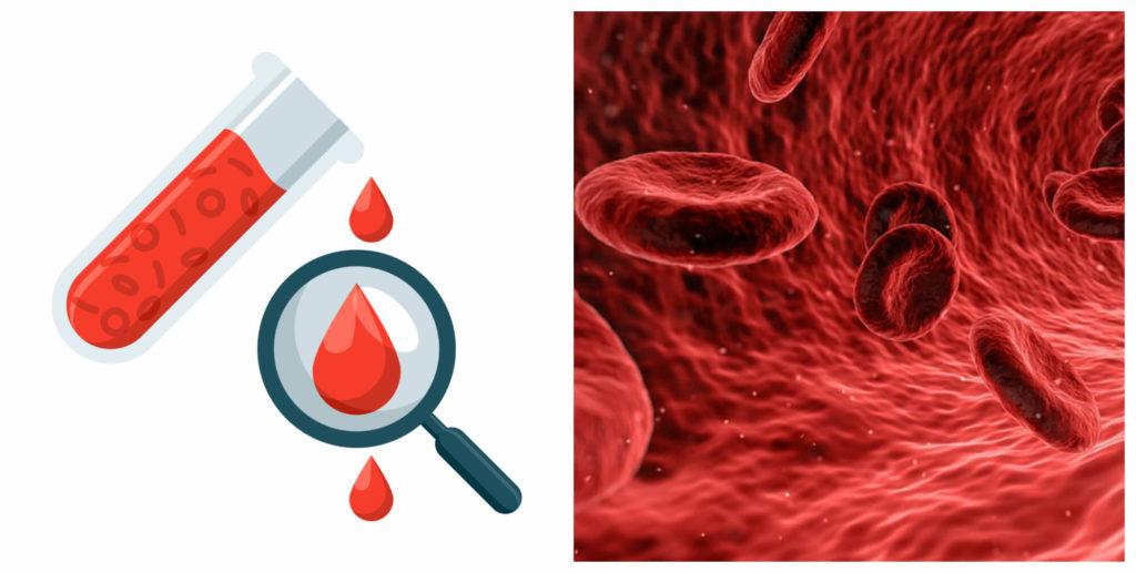 коллаж анализ крови