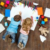 фото дети рисуют
