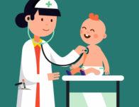 картинка педиатр и малыш