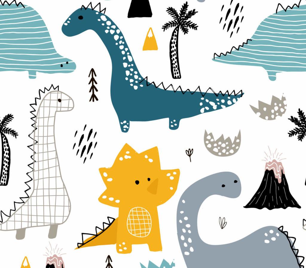рисунок динозавры