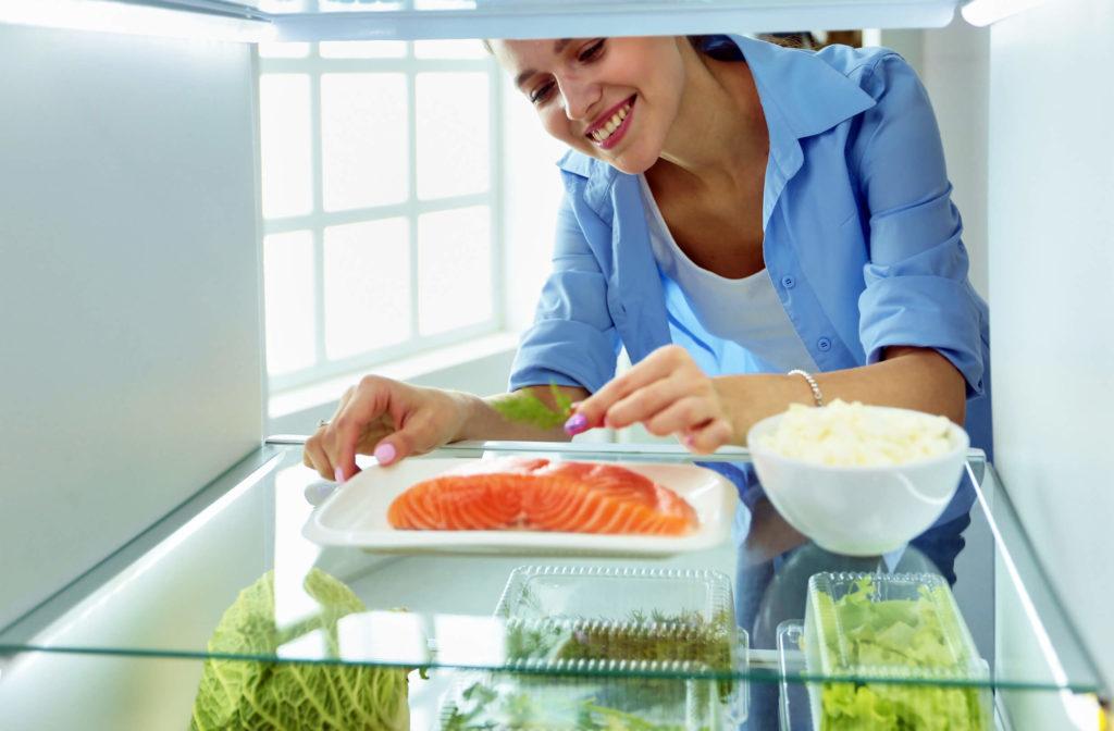 рыба из холодильника