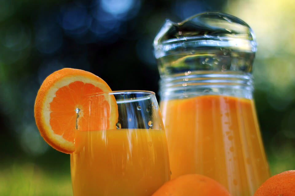 апельсины в соке
