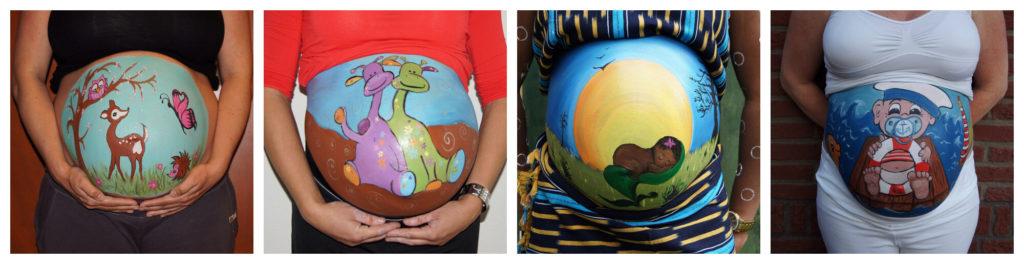 рисунки на беременных