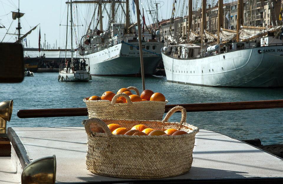 апельсины из Китая