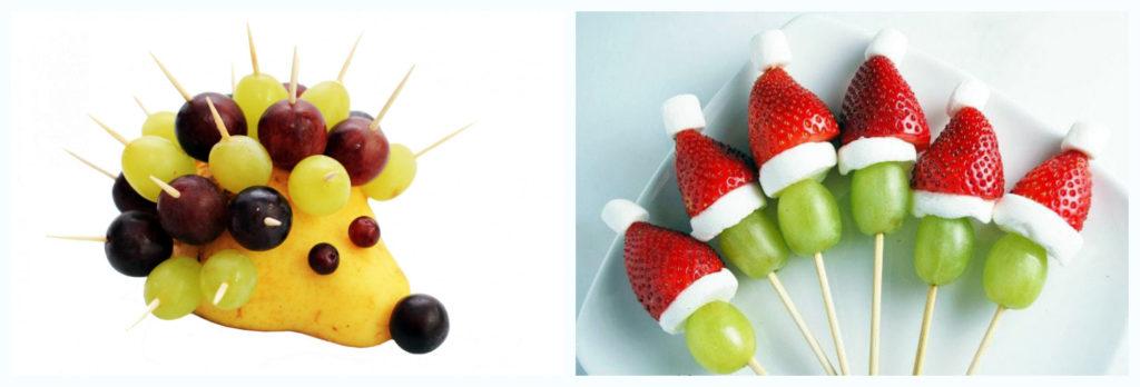 фрукты деткое меню