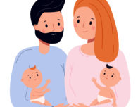 выплаты родителям близнецов