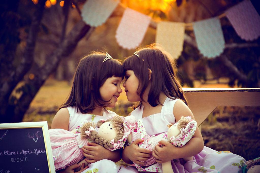 близнецы девочки
