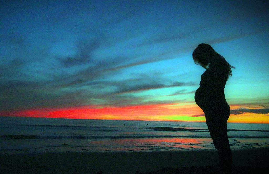 беременность восход солнца